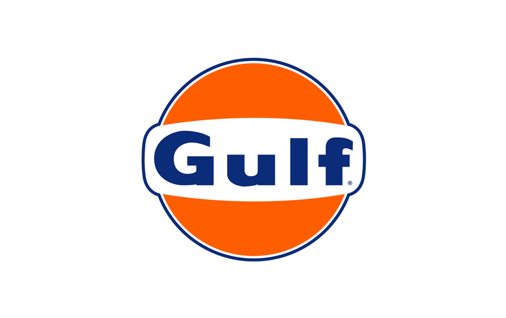 Лого автозаправочной станции Gulf Georgia